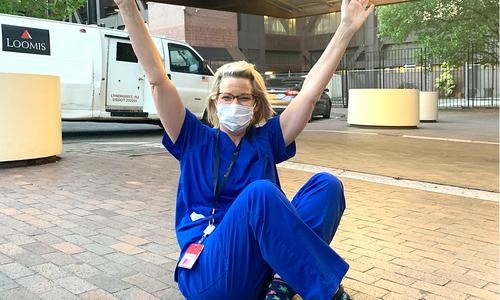 Cherl Longabaugh Webb, a registered nurse at CoxHealth