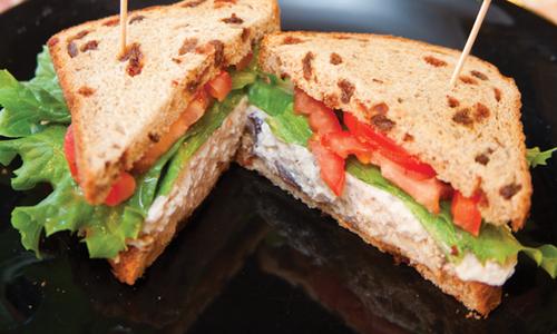 Chicken Salad Sandwich at Beth's Bake Shoppe
