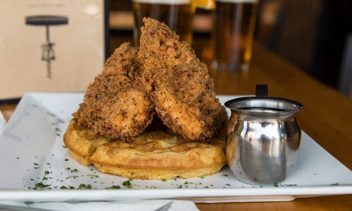 Chicken and Waffles from Civil Kitchen