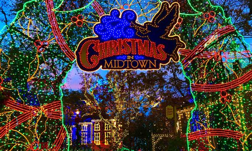Branson Missouri Christmas lights
