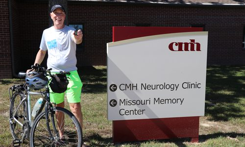 CMH Neurologist Curtis Schreiber Follows His Own Advice