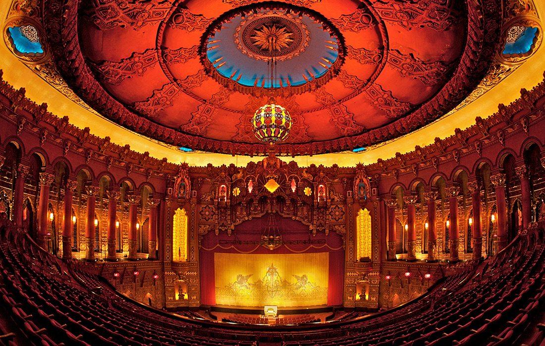 Fox Theatre in St. Louis, Missouri.