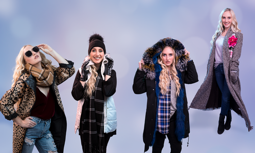 Cozy Up with Cuddly Coats