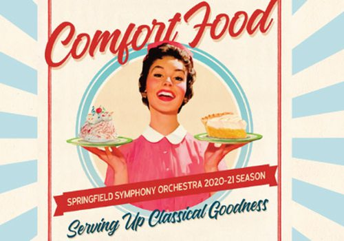 comfort food flyer