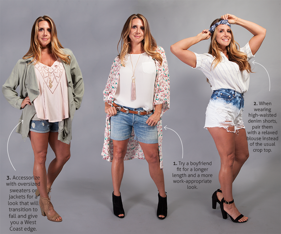 Style your shorts perfectly with these helpful tips.