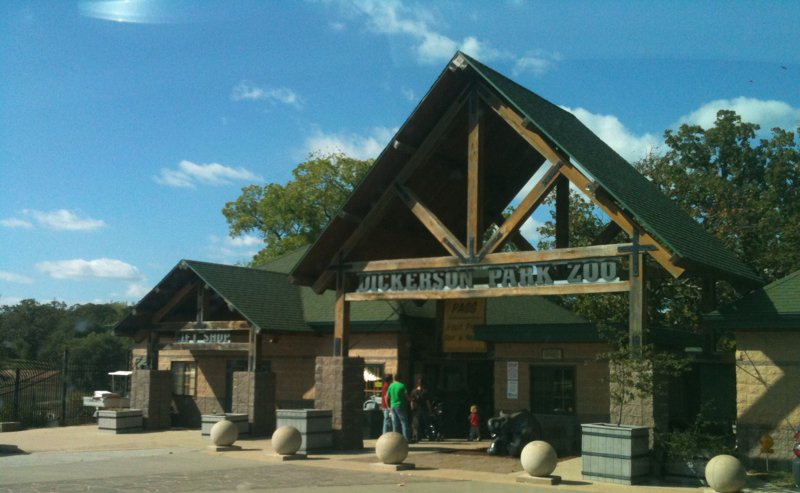Holiday fun at the Dickerson Park Zoo