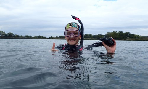 Scuba diving at Table Rock Lake
