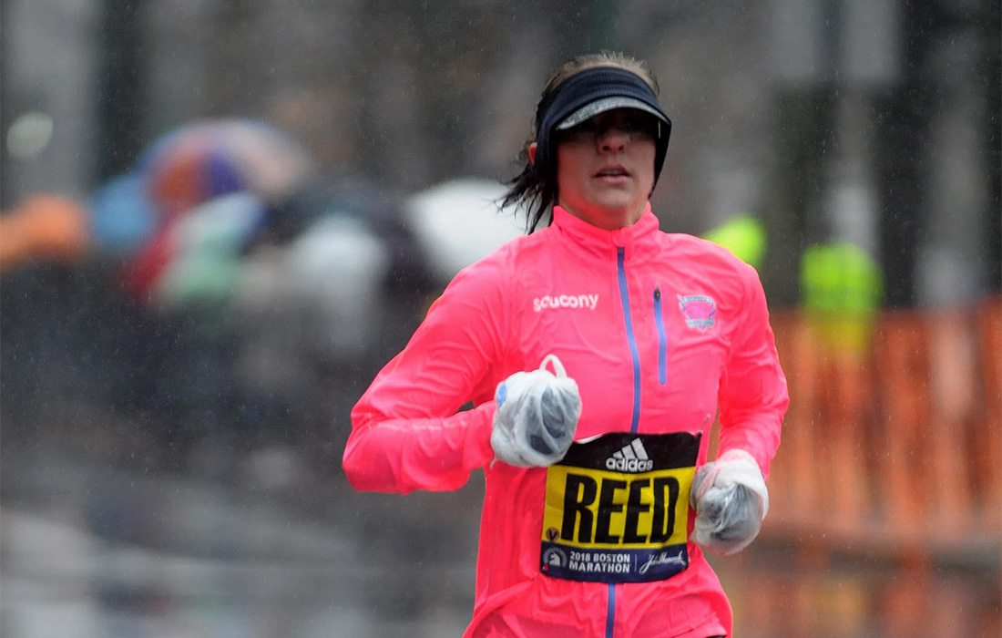 Kimi Reed marathon running springfield mo