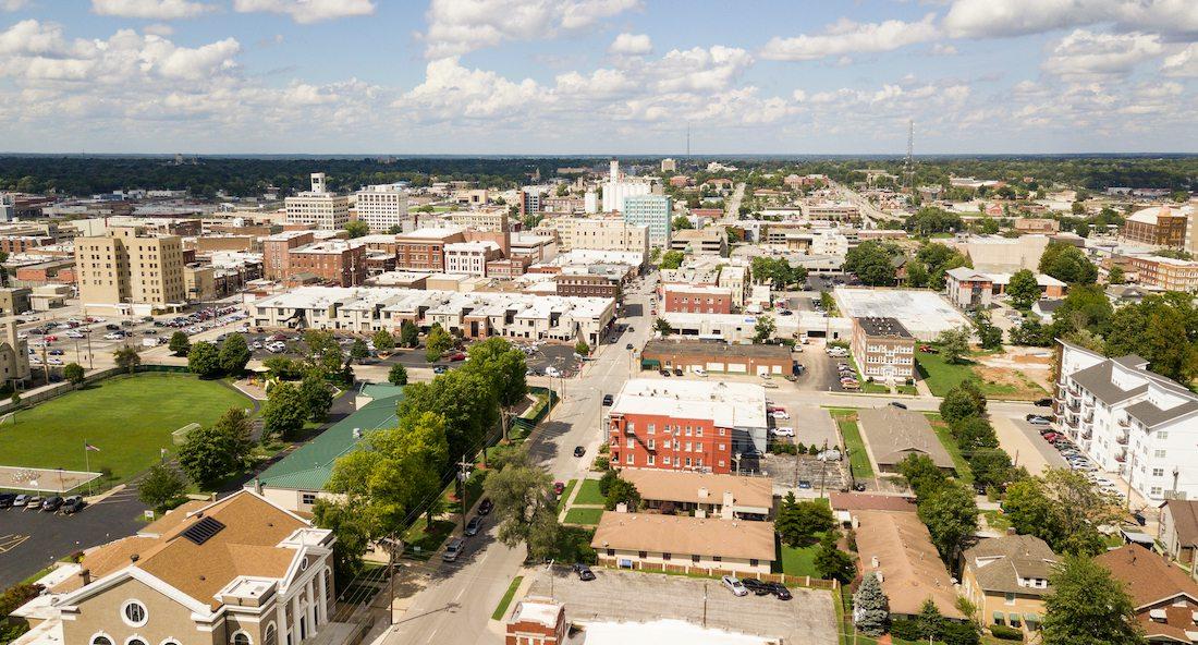 Downtown Springfield, MO skyline