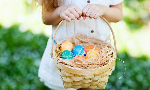 Easter egg hunt in Hollister, MO
