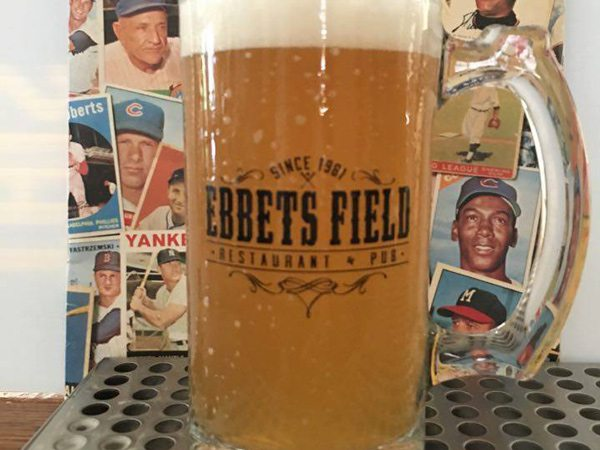 Beer at Ebbets Field in Springfield, MO