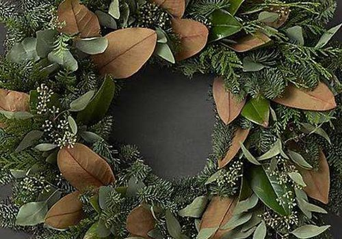 Magnolia & Noble Fir Wreath Workshop