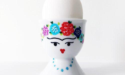 Local Crafter Ellen Neville's Cute Egg Holders