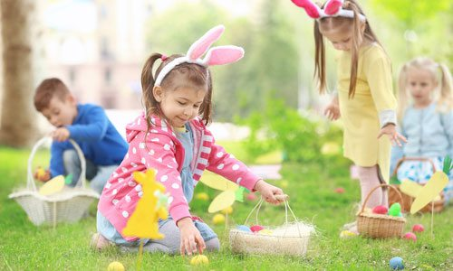 Sensory-Safe Easter Egg Hunt