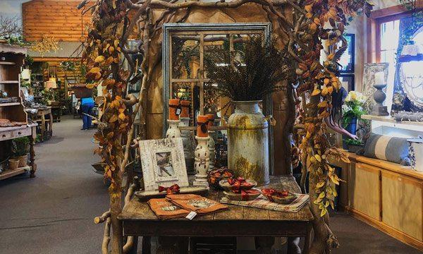 Fall Shop Decorations