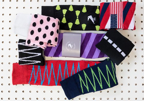 Lines We Love: Jason Crowe Socks