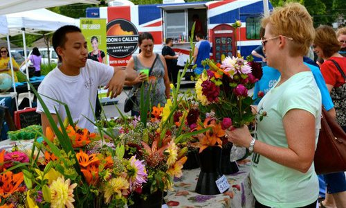 Farmers Market Back to School Bash