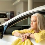 Slider Thumbnail: 2020 Lexus NX 300 compact SUV; Jewelry by Maxon Fine Jewelry; Yellow Kimono at Nixa Clothing Company; Yellow bag at Fashion House