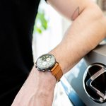 Slider Thumbnail: Shinola watch by Mitchum Jewelers in Ozark MO. Shot at Reliable Lexus in Springfield MO.