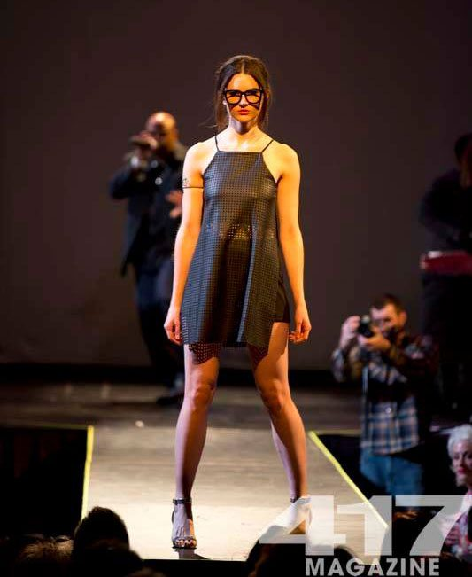 Runway Model at Fashionation 2015
