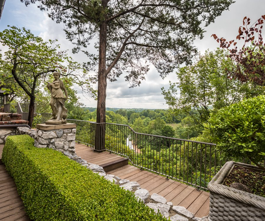 Bob Noble's Estate Overlooking Ozark's Finley River