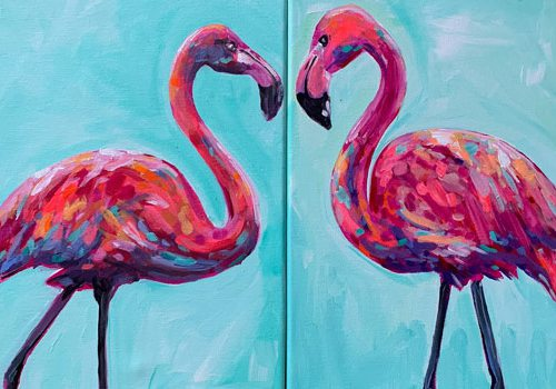 Flamingos courtesy WOW