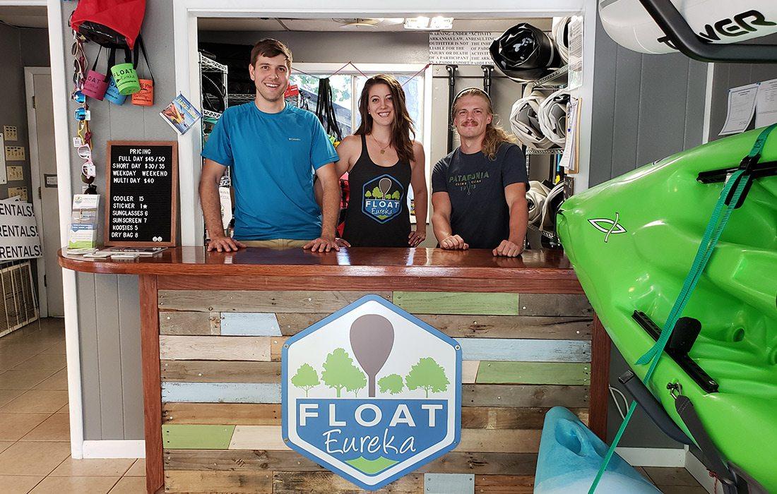 Staff at Float Eureka in Eureka Springs, AR