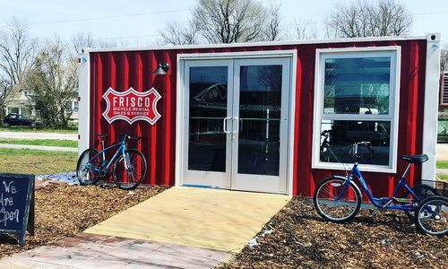 Bike Shop Opens on Frisco Highline Trail