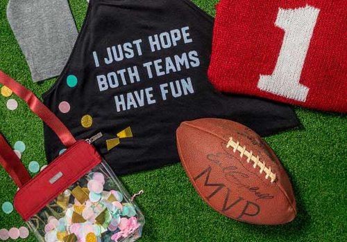 stylish sports fan apparel