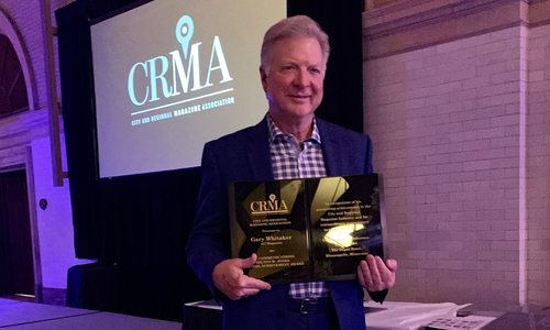 417 Magazine Publisher Gary Whitaker Receives Lifetime Achievement Award