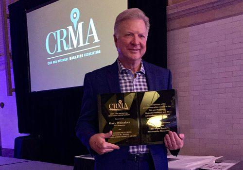 417 Magazine Publisher Gary Whitaker Receives Lifetime Achievement Award