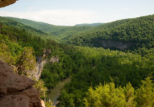 Goat Trail's Big Bluff