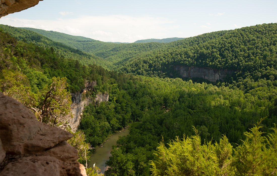 Goat Trail's Big Bluff