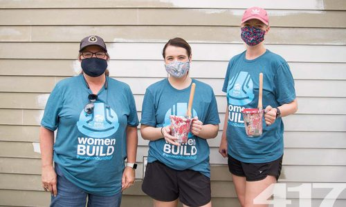 See pictures from Habitat for Humanity Women Build 2020