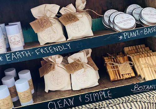 handmade items courtesy Hello, Sunshine Market