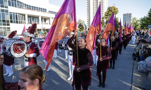 Homecoming celebration at Missouri State University