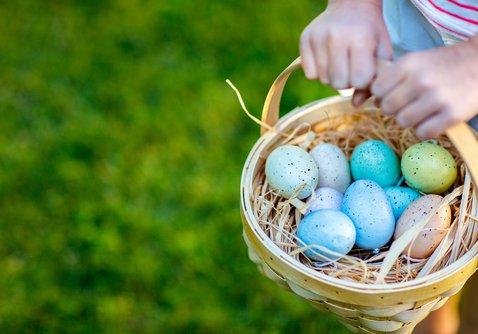 Easter Egg Hunt sponsored by Mac Dental