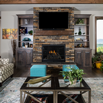 Slider Thumbnail: Rustic Fireplace