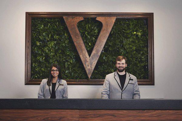 Hotel Vandivort plant wall