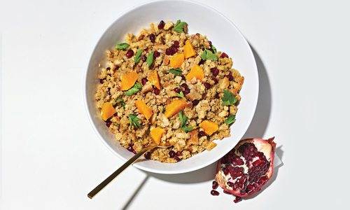 Orange and Pomegranate Fruit Stuffing Recipe