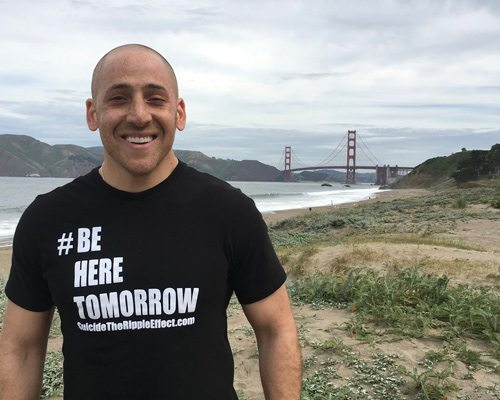 Kevin Hines, featured speaker during 417 Magazine's How To Save A Life series on September 16, 2020