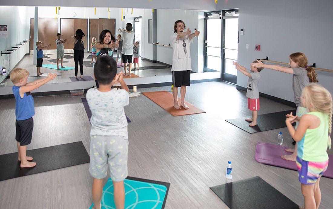 Springfield's S.W.E.T. Hot Yoga Kids Yoga Class