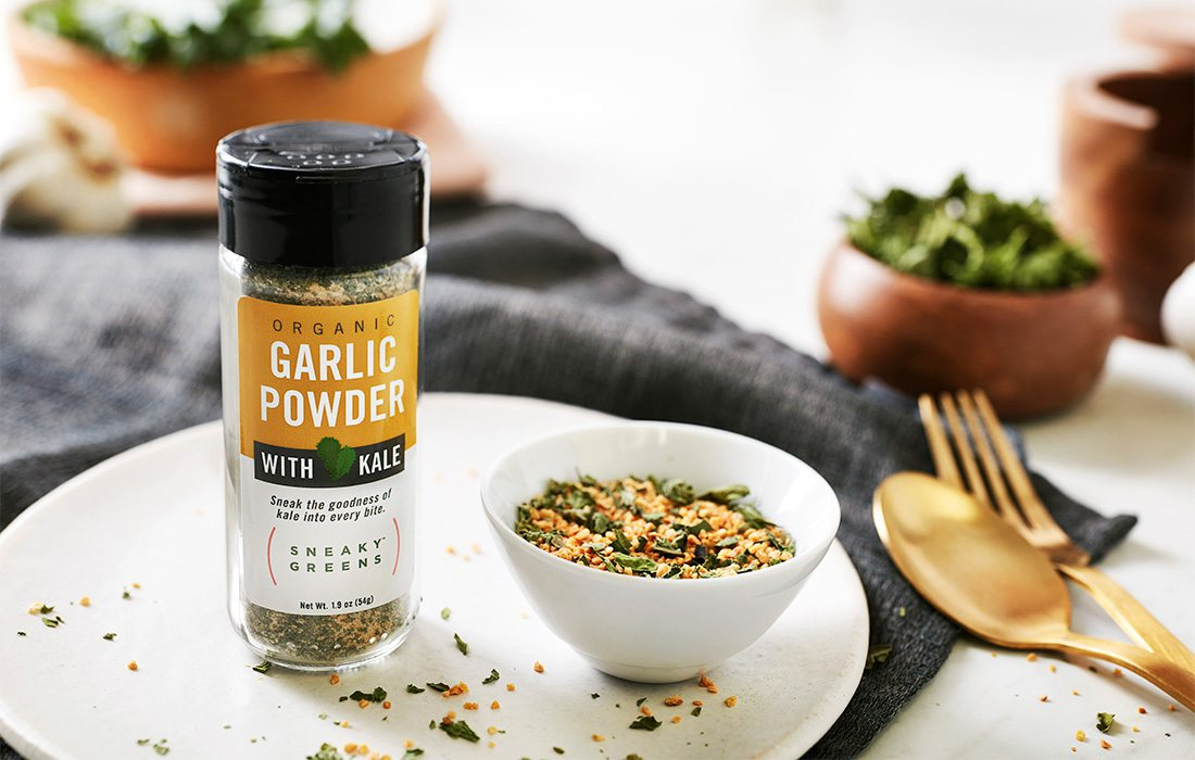 garlic powder and spices