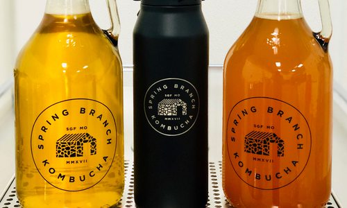 Kombucha Springs up on Tap at Spring Branch