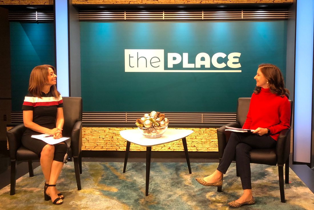 Melanie Steen and Logan Aguirre on KY3's The Place