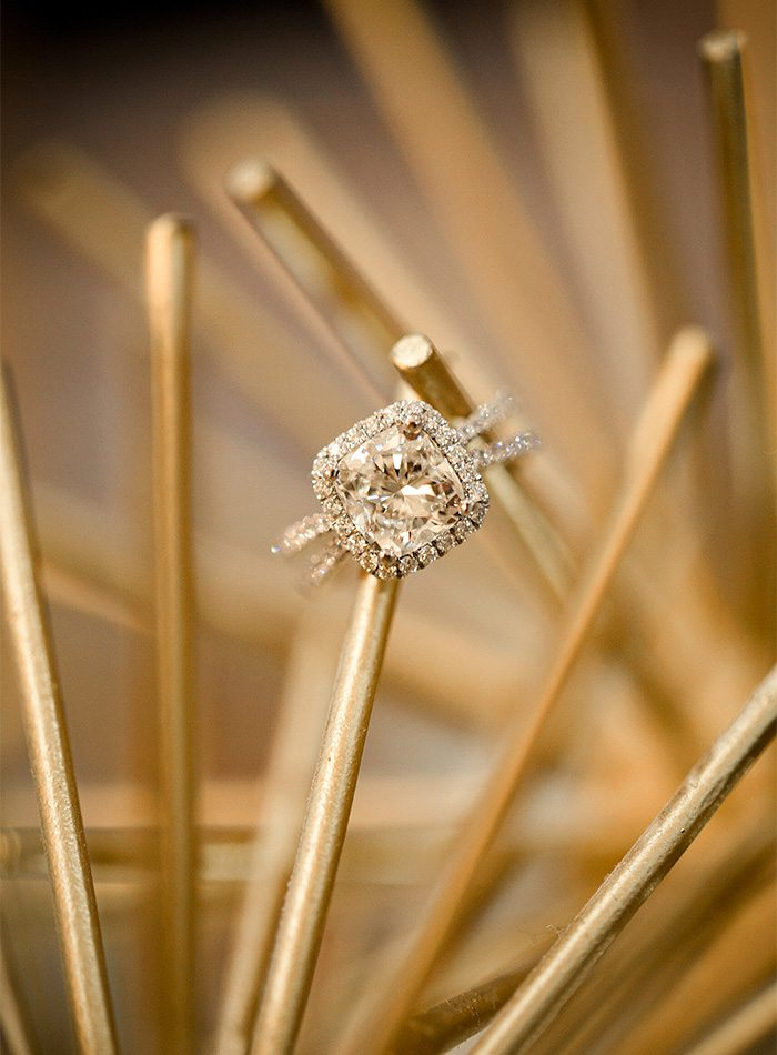 engagement ring from Maxon Fine Jewelry