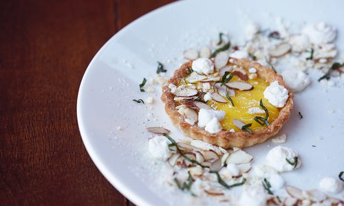 Try this lemon tartlet from The Order in Springfield, MO.