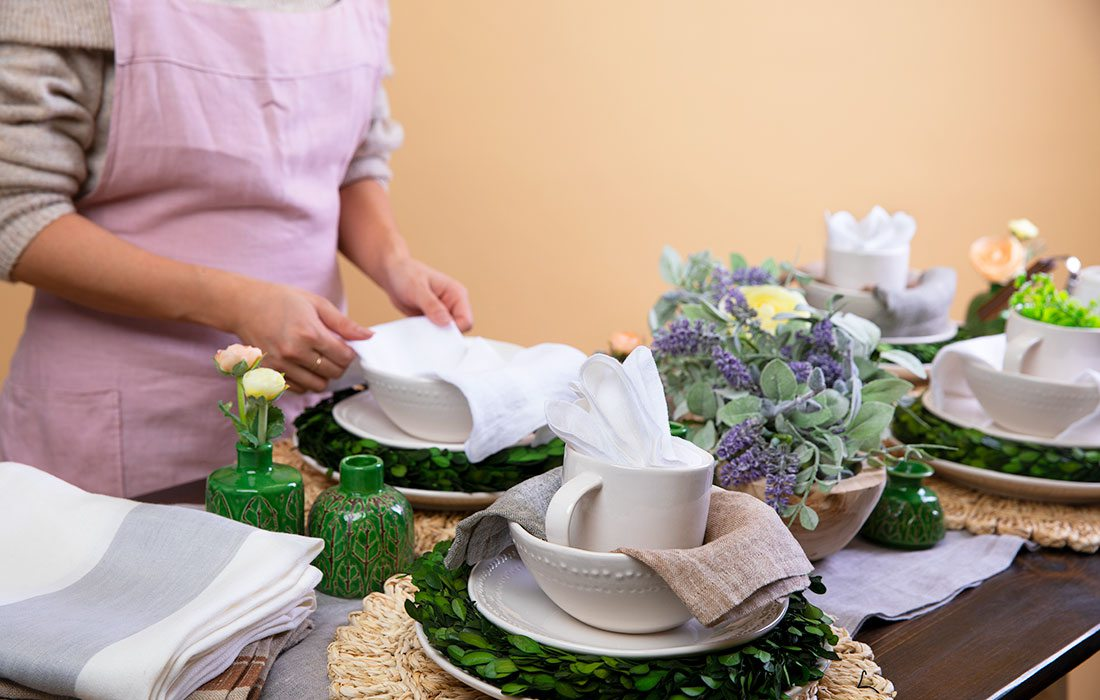 Linen is a fabric with a variety of uses.