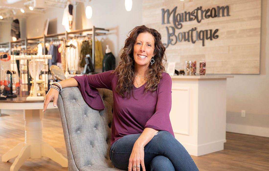 Mainstream Boutique owner in Springfield, MO