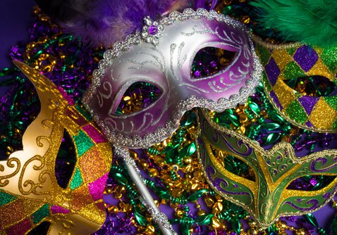 Mardi Gras themed fundraising event in Springfield, MO